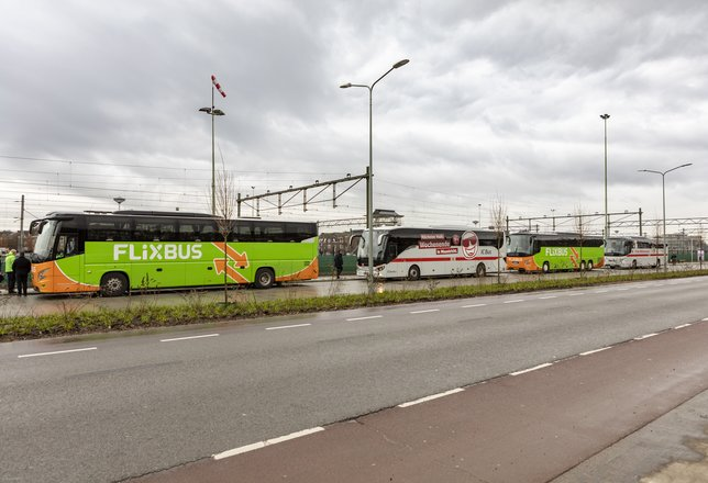 Internationaal busstation Meerssenerweg